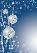Silver decorative balls