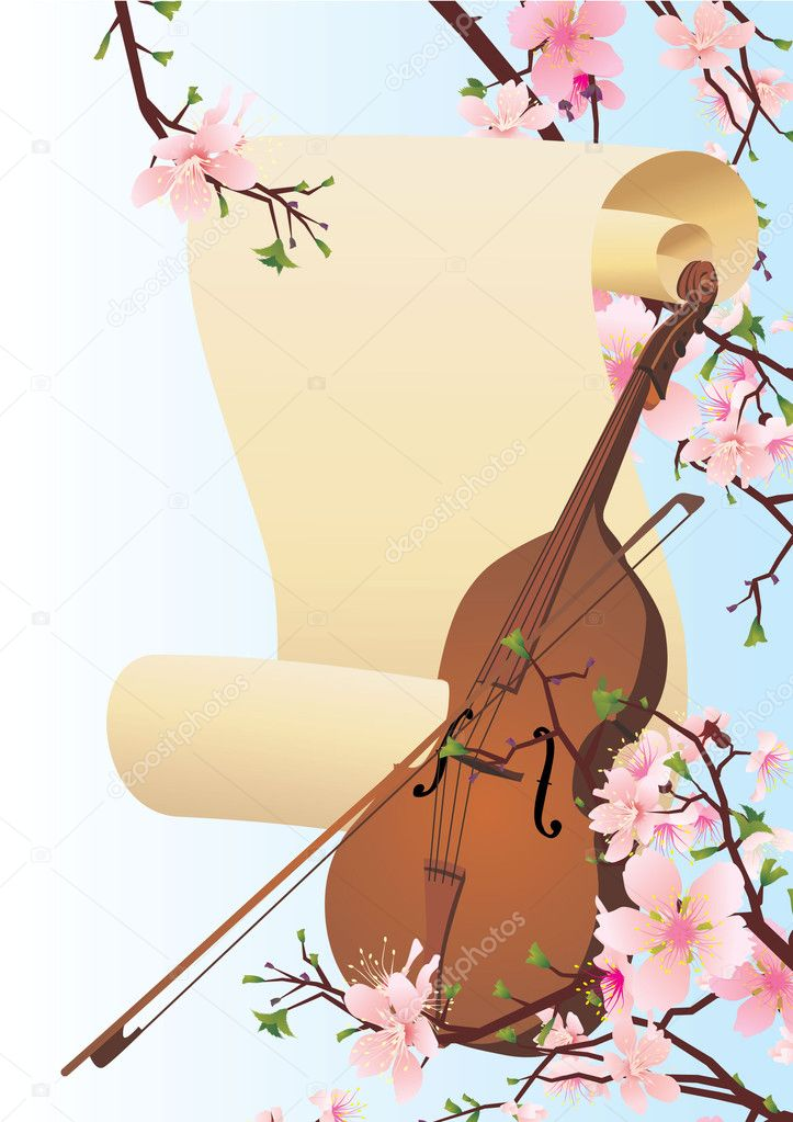 Spring violine
