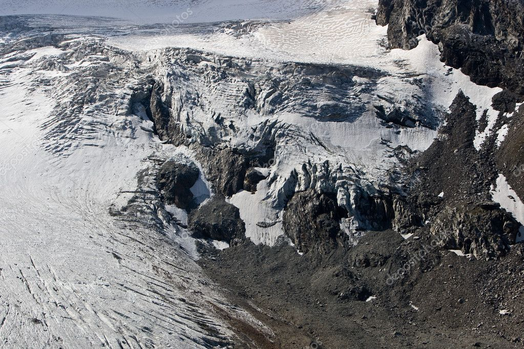 Glacier. Caucasus