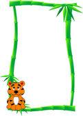 Fotografia banner di bambù