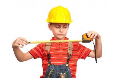 Little construction worker