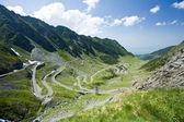 Transfagarasan road v Rumunsku