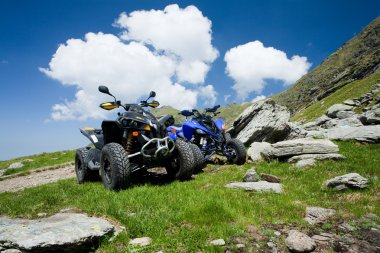 All terrain vehicles offroad