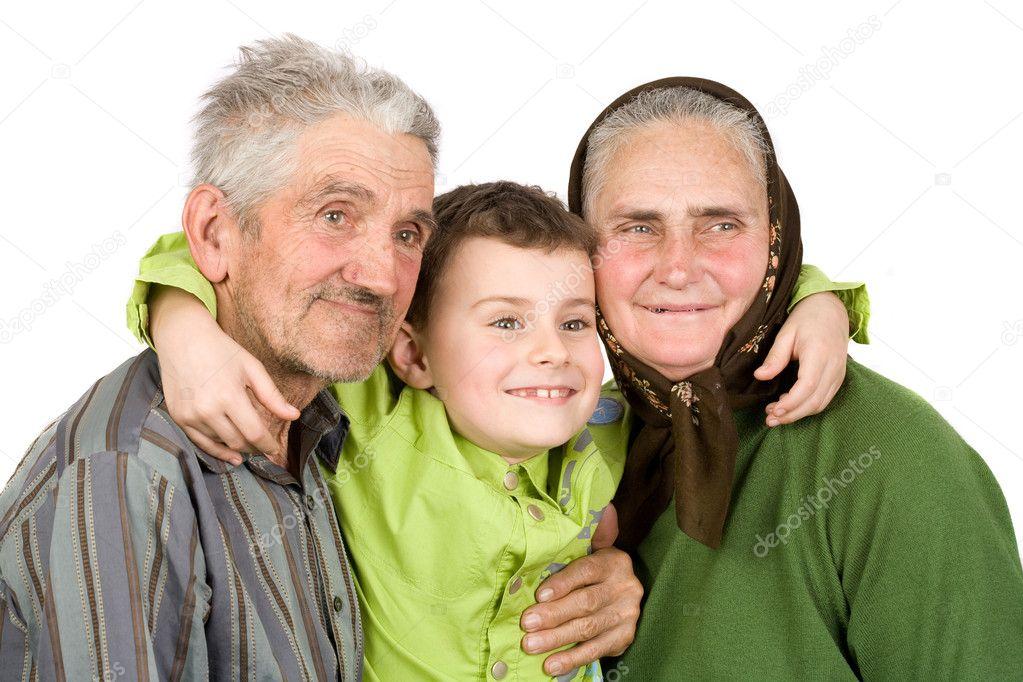 русские внучка бабушка и дедушка