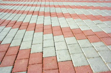 Pavement with pattern