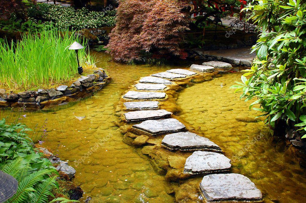 Laghetto da giardino foto stock montana 2015539 for Kit laghetto da giardino