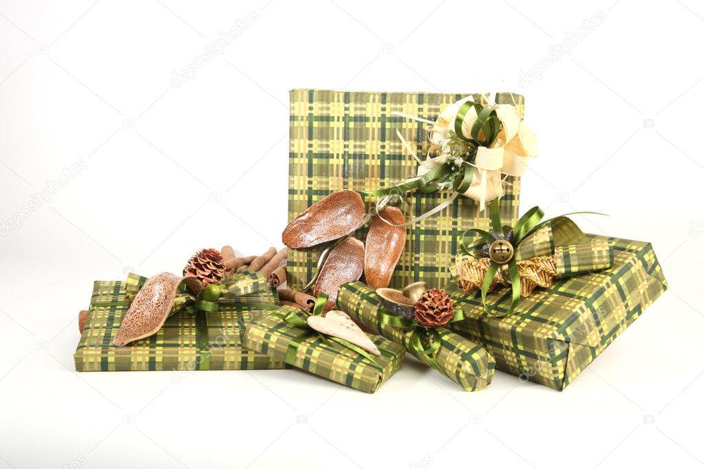 Weihnachtsgeschenke — Stockfoto © hannahcz #2099291