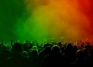 Rainbow Concert Crowd