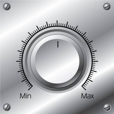 Volume knob with calibration 2