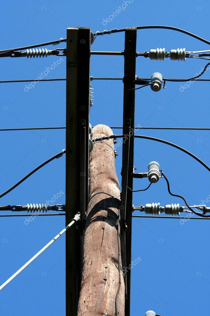 Telefonmast — Stockfoto © njnightsky #2011612