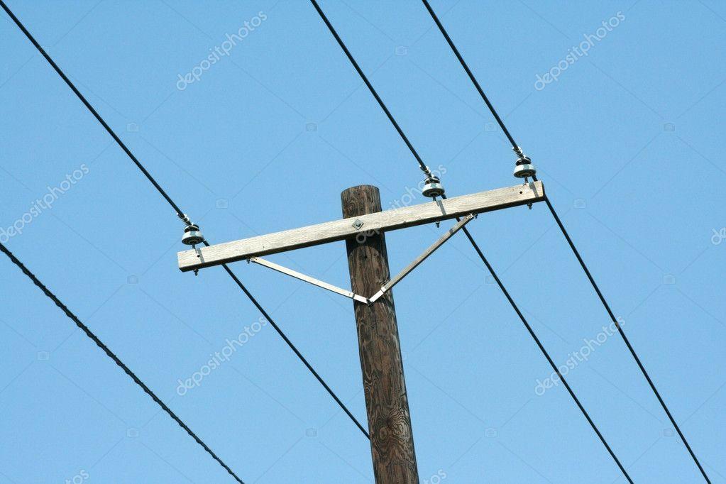 Telefonmast — Stockfoto © njnightsky #2107975