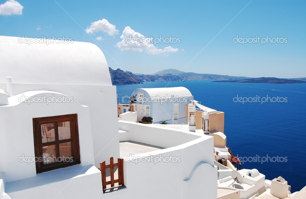 Traditional architecture of Oia