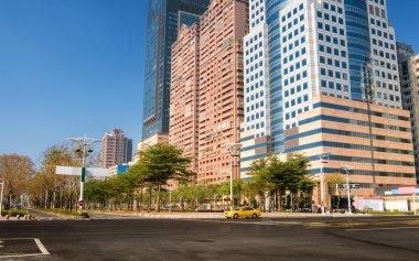 City street scenery