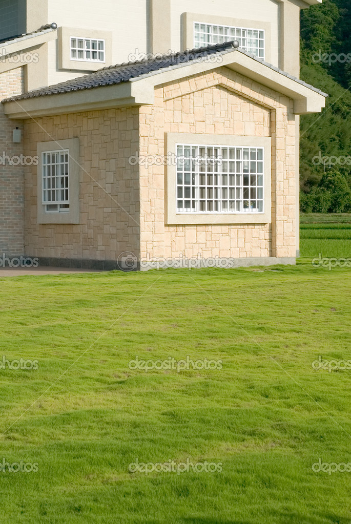 House on the grassland