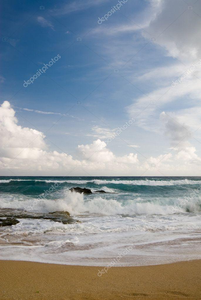 Sea scenic