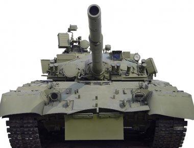 The Soviet tank