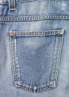 Full Frame of Jeans back pocket stock vector