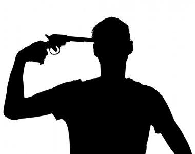 Man with a gun at his head