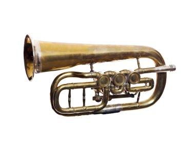 Worn wind instrument