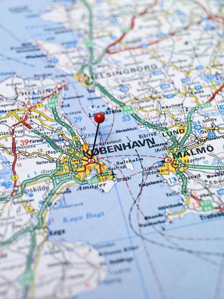 köpenhamn karta Köpenhamn karta — Stockfotografi © gemena#2669902 köpenhamn karta