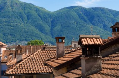 Town roofs
