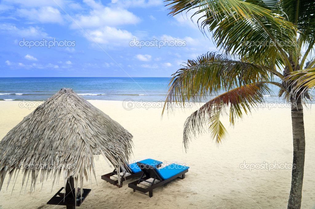 Beach holiday.