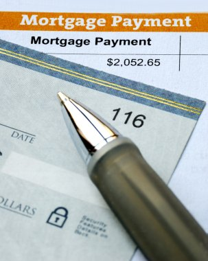 Paying the mortgage for the home