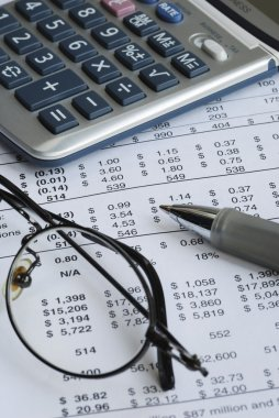 Audit the company balance sheet