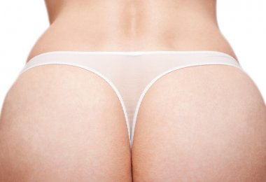Feminine prist in white panties