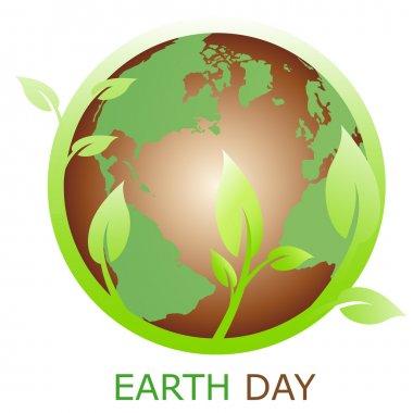 Earth symbol, logo company