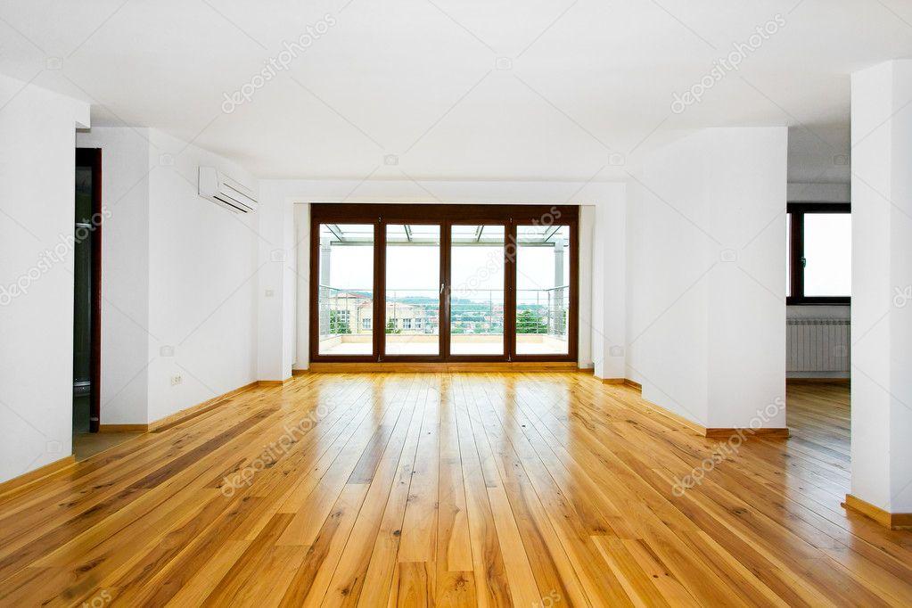 Empty Living Room Stock Photo 2177364