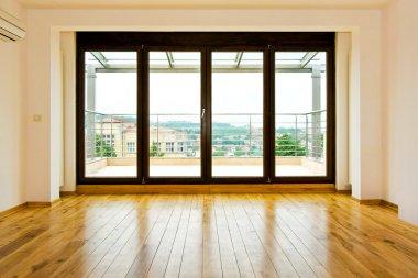 Four glass doors