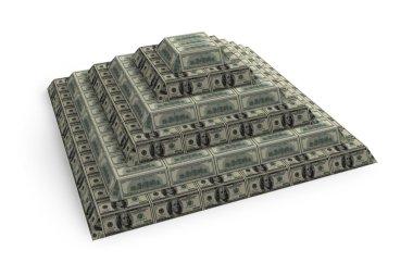 Financial dollar's pyramid