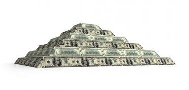 Dollar's financial pyramid