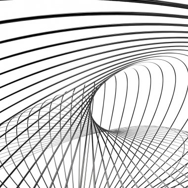 Abstract metallic wires