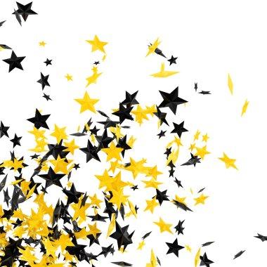 Stars on white stock vector