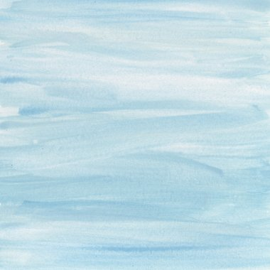 Delicate blue and white watercolor
