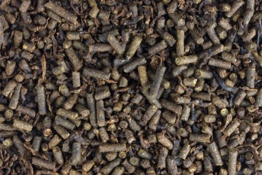 Horse feed pellets