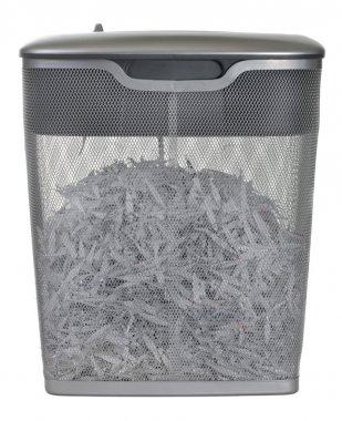 Light duty paper shredder