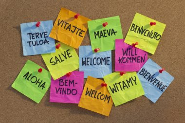 Welcome, willkommen, bienvenue, aloha