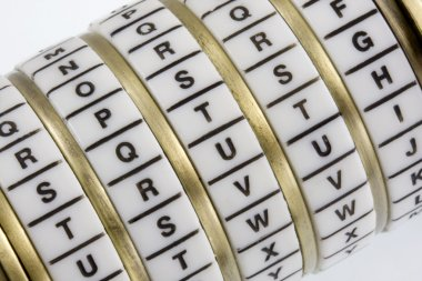 TRUTH - keyword set in combination puzzle box wi