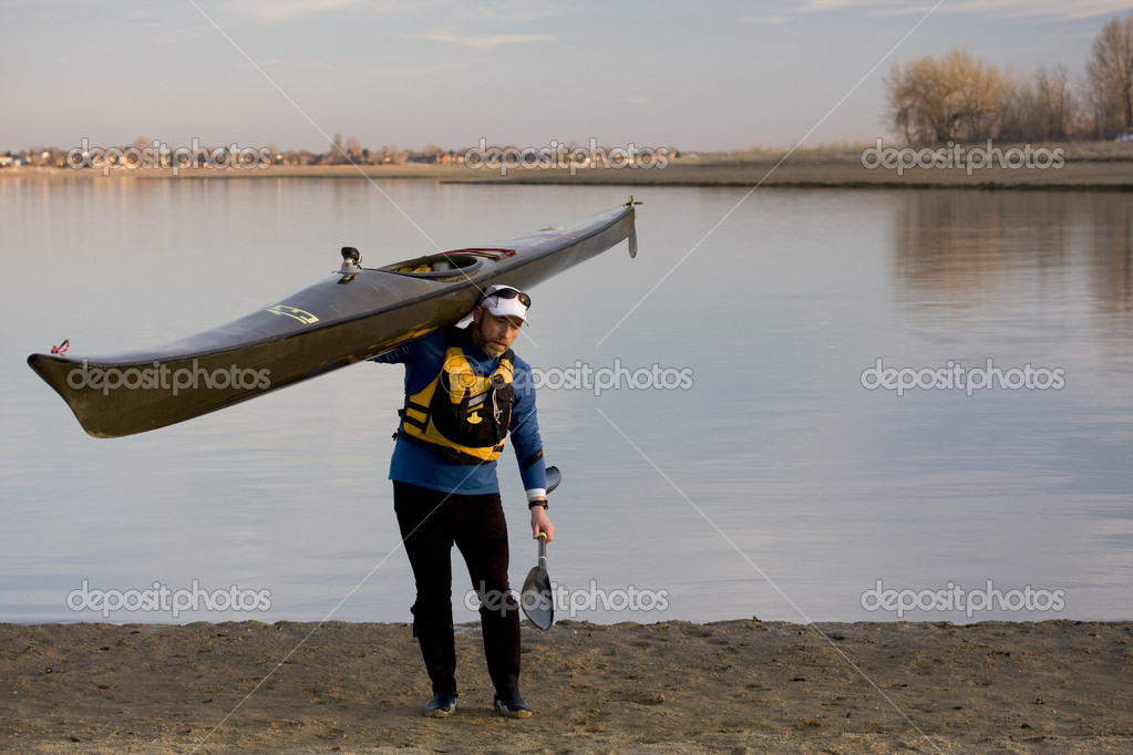 After paddling workout