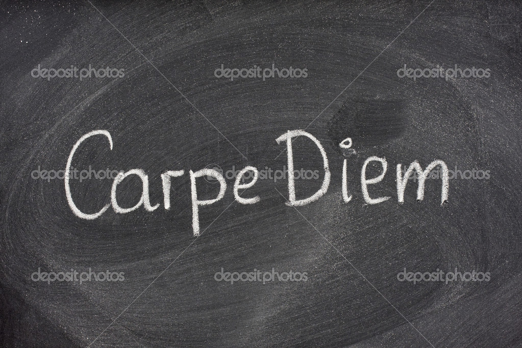 the definition of carpe diem The definition of carpe diem is a latin phrase that means seize the day, encouraging people to embrace and make the most of their time.