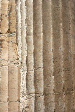 Closeup ancient pillars