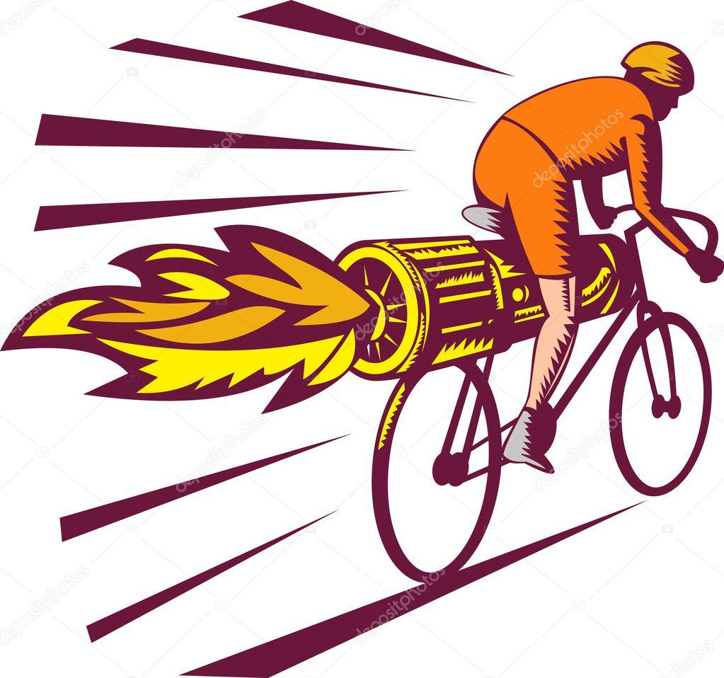 Fotografie Ciclista Da Colorare Ciclista Da Corsa Jet Engine Su