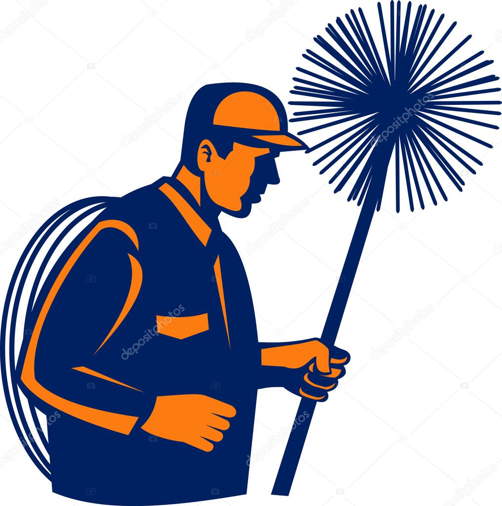 Chimney sweeper or cleaner