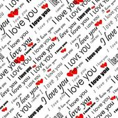 Photo Seamless valentine pattern