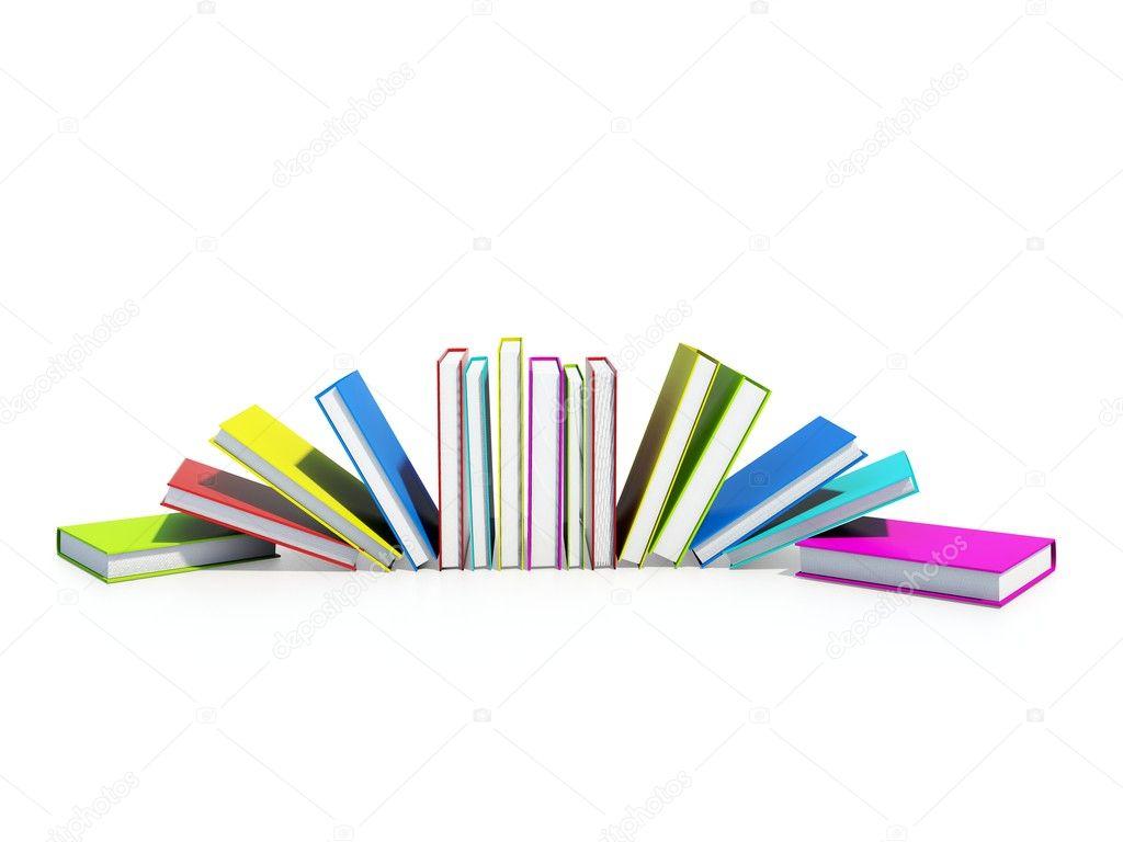 libros de colores — Foto de stock © Mishchenko #2082488