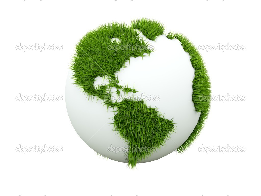 Concept of green earth