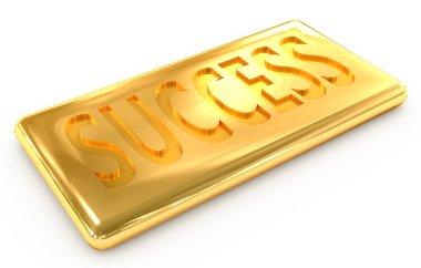 Success gold ingot